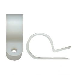Abrazaderas de cable tipo R