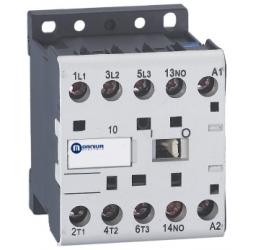 CLZ1 – Mini contactores tripolares y tetrapolares / 6-9A