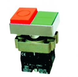 Botones y selectores rotativos montados