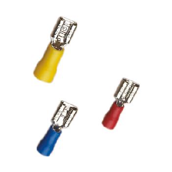 Terminales deconectables hembra